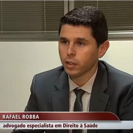 Rafael Robba, sócio do Vilhena Silva Advogados e especialista no setor de saúde Foto: Reprodução
