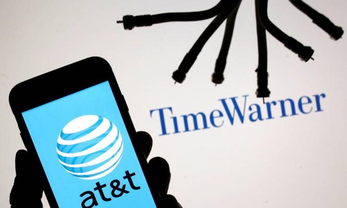 Em 2016, a AT&T comprou a Time Warner Foto: DADO RUVIC / REUTERS