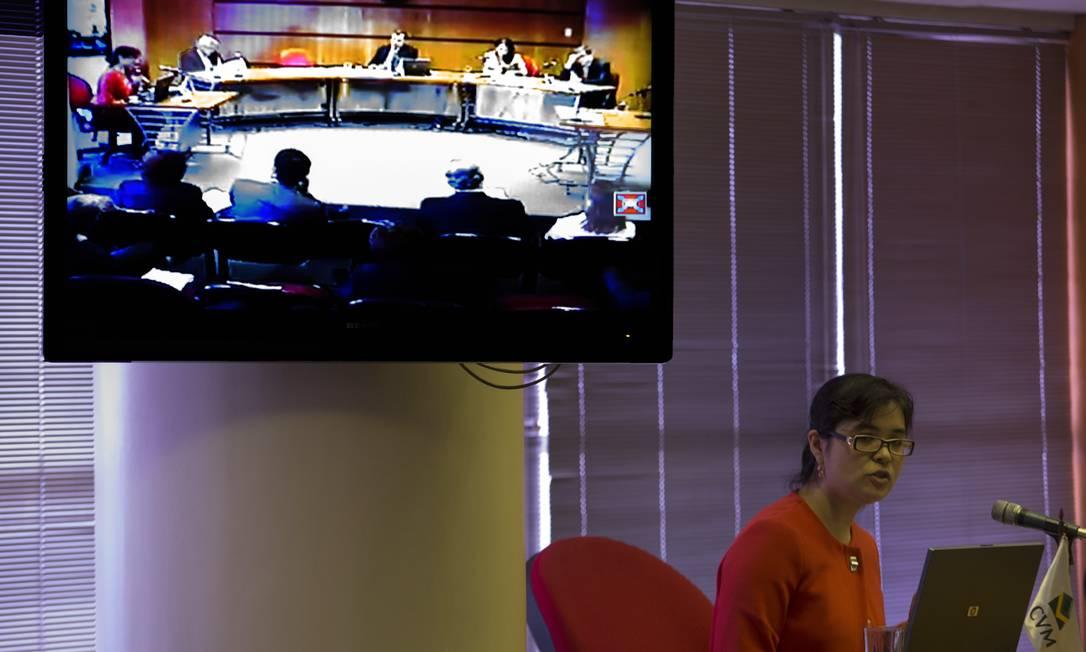 Julgamento na CVM Foto: Antônio Scorza / O Globo