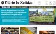 O jornal português Diário de Notícias terá apenas edição on-line. Foto: Reprodução