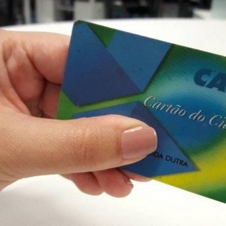 Cartão do cidadão Foto: Bruno Dutra / Agência O Globo