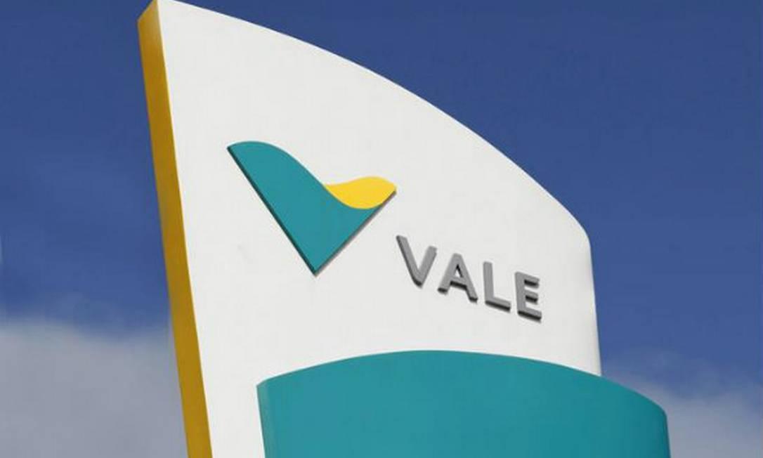 A logomarca da Vale Foto: Reprodução