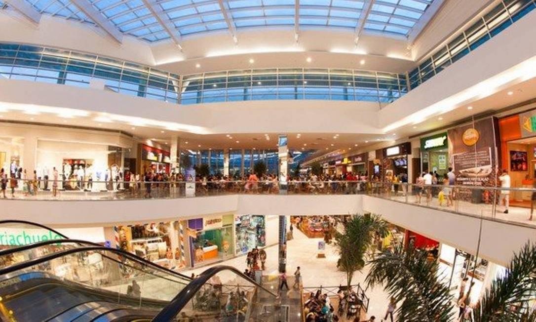 Shoppings vão abrir no Rio, parcialmente, a partir dos próximos dias Foto: Divulgação
