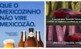 Cerveja Rio Carioca faz campanha com jogo do México. Kia celebra classificação do país latino Foto: Divulgação e Reprodução