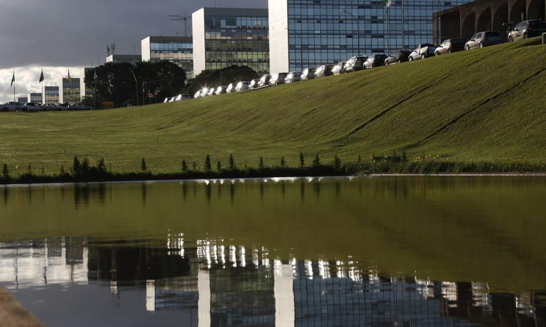 Esplanada dos Ministérios em Brasília Foto: Michel Filho / Agência O Globo
