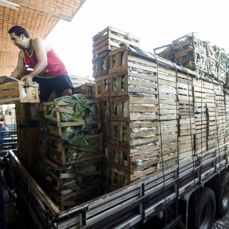 Preços de hortifrutigranjeiros foram alguns dos mais afetados na greve dos caminhoneiros. Foto: Gabriel de Paiva / Agência O Globo