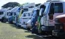 Caminhoneiros pararam o país em maio. Foto: Jorge William / Agência O Globo