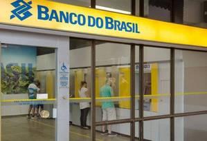 Agência do Banco do Brasil Foto: Arquivo