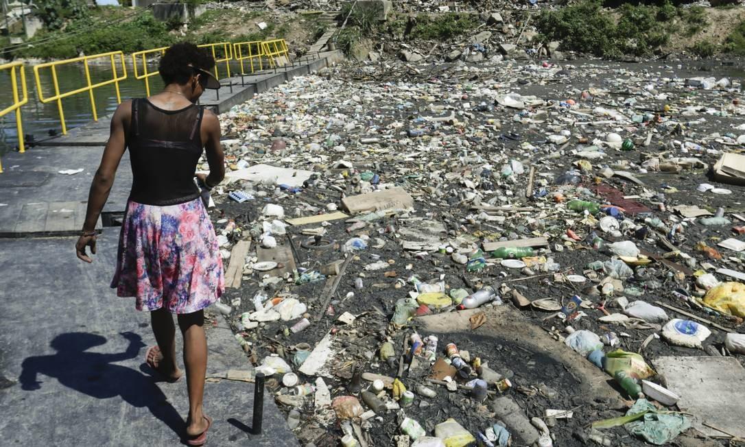 Governo quer destravar investimentos privados em saneamento básico Foto: Gabriel de Paiva / Agência O Globo/18-04-2018