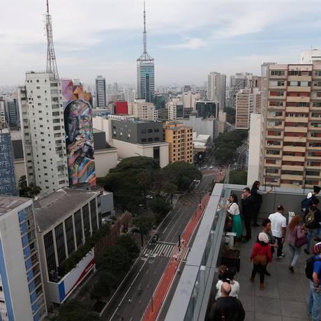 Brasil é 64ª, entre 126 economias listadas em ranking de inovação. Na foto Mirante Sesc Paulista. Foto Marcos Alves / Agencia O Globo Foto: Marcos Alves / Agência O Globo