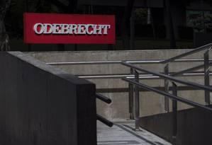 Sede da Odebrecht no bairro do Butantã em São Paulo. Foto: Edilson Dantas / Agência O Globo