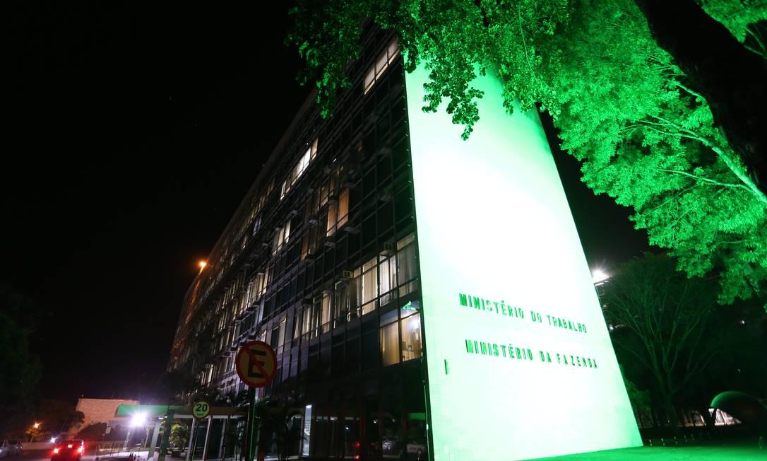 Fachada Ministério do Trabalho, em Brasília. Foto: Ailton Freitas / Agência O Globo