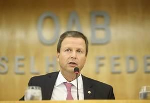 Presidente da OAB nacional, Claudio Lamachia Foto: Reprodução