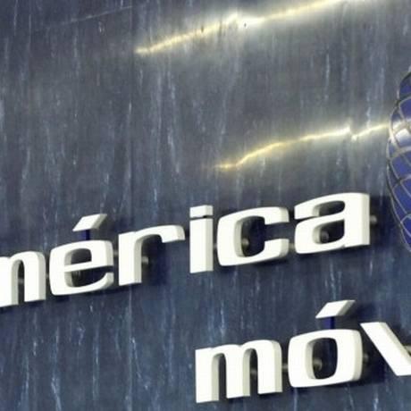 Logo da América Móvil Foto: Reprodução