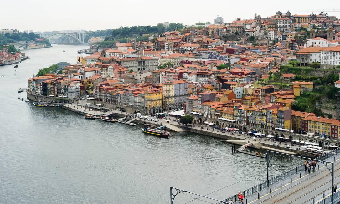 No Porto, há diversas opções de passeios guiados de bike Foto: Rodrigo Cardoso / The New York Times