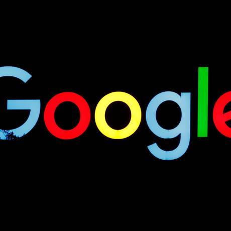 Logo da Google no Centro de Engenharia da empresa em Zurique Foto: ARND WIEGMANN / REUTERS