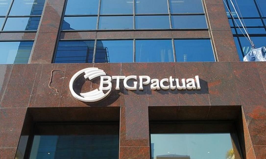 Fachada do BTG Pactual Foto: Reprodução