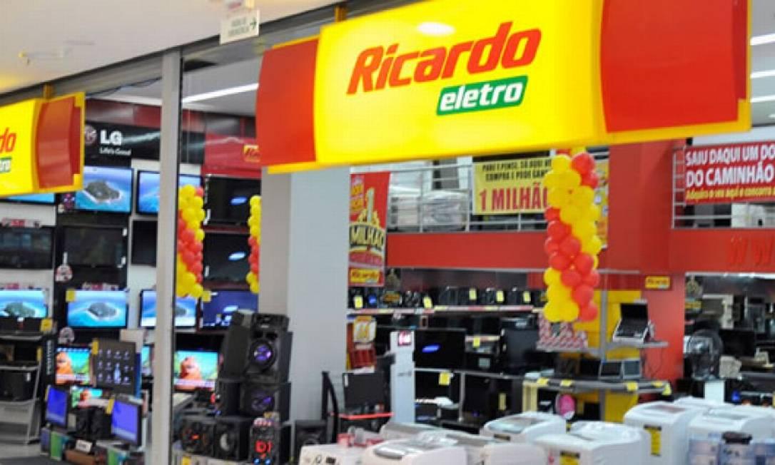 Loja da Ricardo Eletro: fundador da rede é preso em São Paulo Foto: Reproduçao