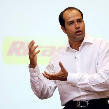 Ricardo Nunes, dono da Ricardo Eletro Foto: Fábio Rossi / Agência O Globo