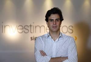 Guilherme Benchimol é socio da maior corretora de valores independentes do Brasil Foto: Fábio Rossi / Agência O Globo