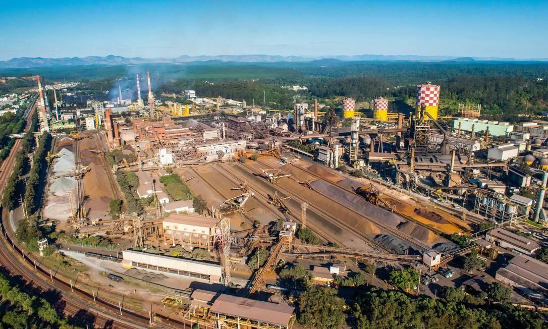 Estado do trabalhador acidentado na Usiminas permanece estável
