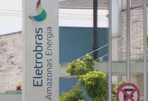 Fachada da Amazonas Distribuidora de Energia, da Eletrobras Foto: Reprodução