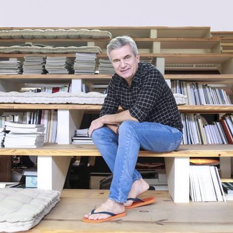 Marcio Utsch, presidente da Alpargatas. Foto: Marcos Ramos / Agência O Globo