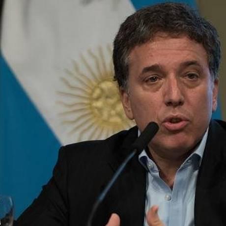 Ministro argentino das Finanças, Nicolás Dujovne Foto: Divulgação