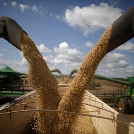 Exportação de grãos Foto: UESLEI MARCELINO / REUTERS