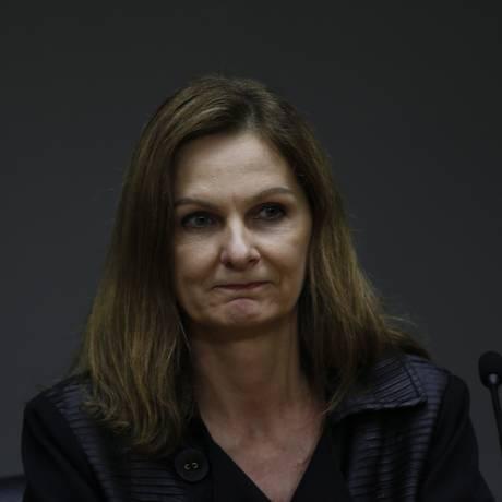 Secretária Executiva do Ministério da Fazenda, Ana Paula Vescovi Foto: Michel Filho / Agência O Globo