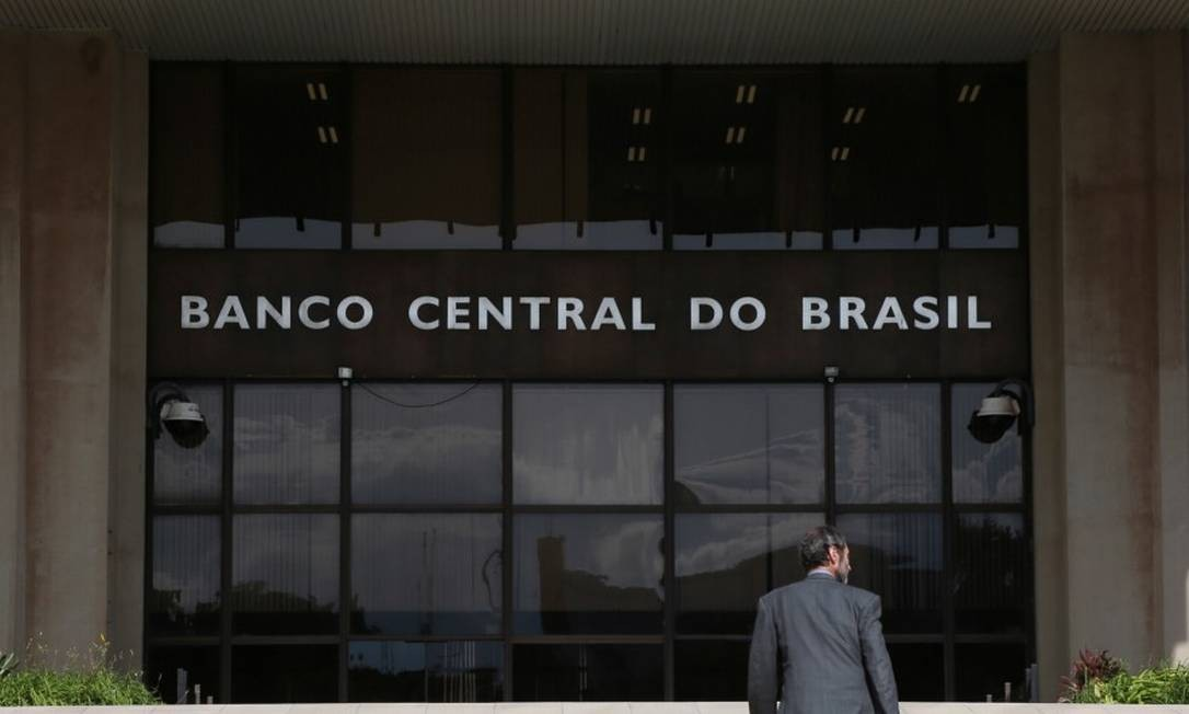 Sede do Banco Central do Brasil (BC), na Asa Sul, Plano Piloto de Brasília Foto: Michel Filho/Agência O Globo