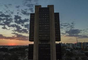 Prédio do Banco Central em Brasília Foto: Daniel Marenco / Agência O Globo