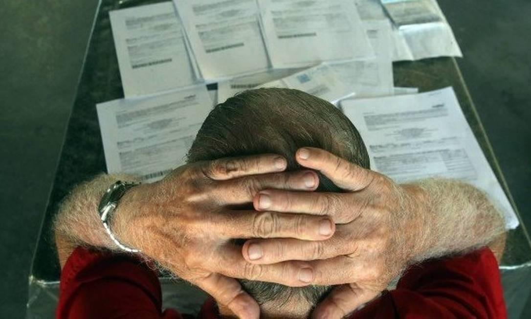 Cresce o número de pessoas que não conseguem pagar as contas básicas Foto: Rafael Moraes / Agência O Globo
