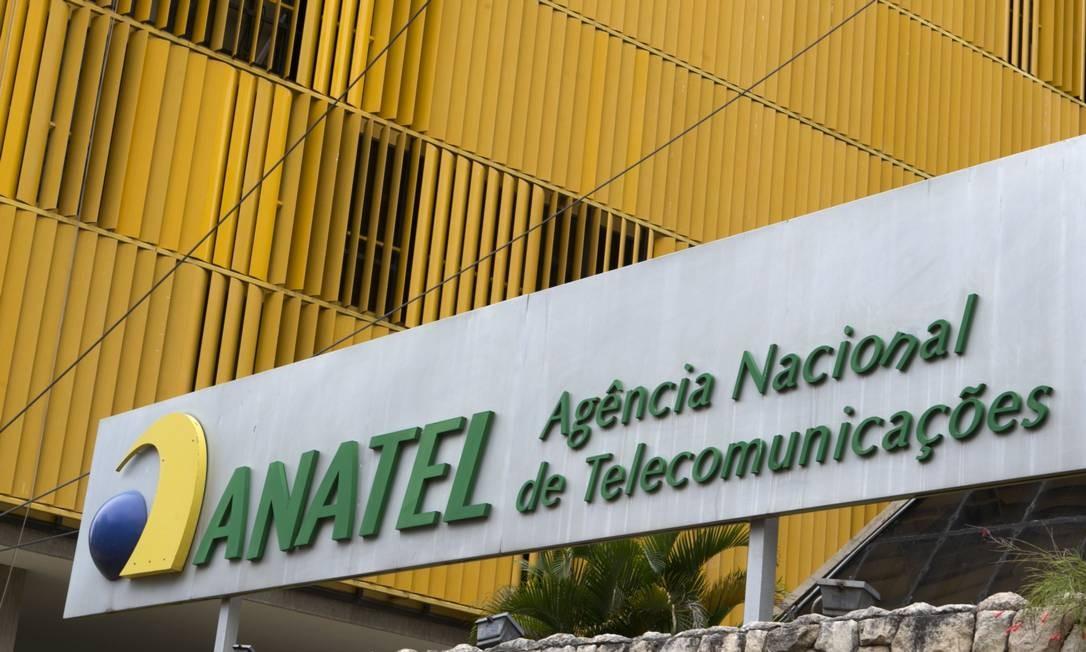 Anatel, Agência Nacional de Telecomunicações Foto: Michel Filho / Agência O Globo