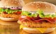Sanduíche de frango do McDonald's Foto: Reprodução