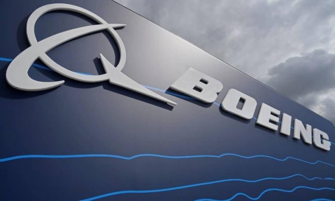 Logotipo da Boeing Foto: Reprodução
