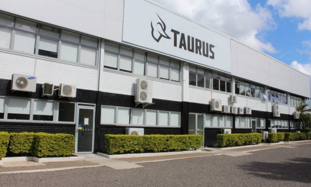 Fabrica da Taurus em São Leopoldo, no RS Foto: Reprodução