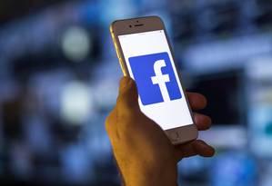 Facebook está sob pressão pública sobre como lida com dados de seus usuários Foto: Jason Alden / Bloomberg