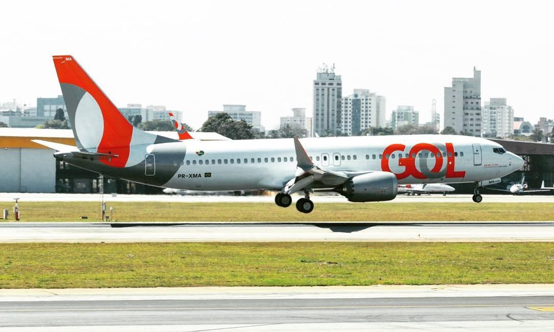 Avião da Gol Foto: Divulgação