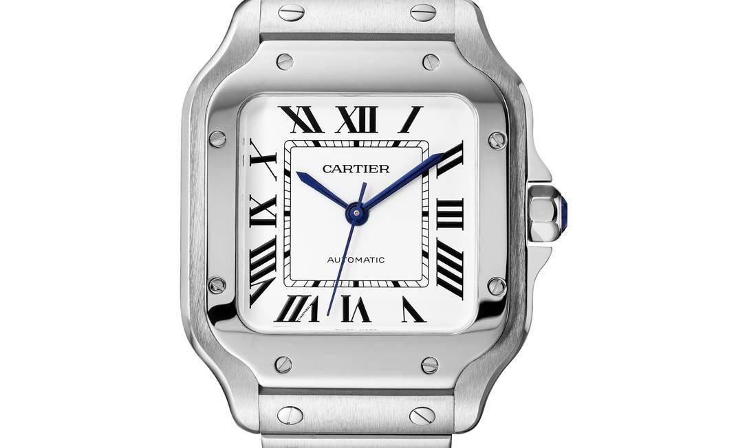 Relógio masculino da Cartier Foto: Fabian Alvarez / Divulgação/07/06/2017