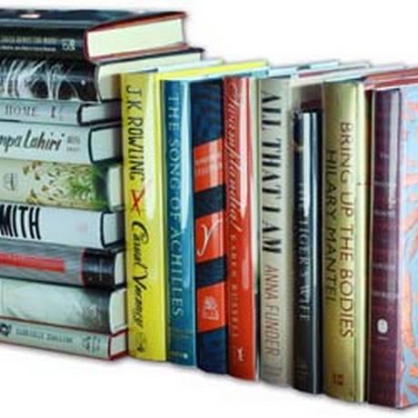 Livros vendidos pela plataforma Abebooks, da Amazon Foto: Reprodução