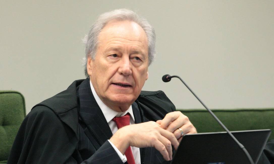 O ministro Ricardo Lewandowski, durante sessão da Segunda Turma do STF Foto: Carlos Moura/STF/30-10-2018