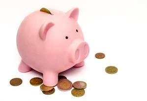 Cofre em formato de porquinho é símbolo de poupança Foto: Pixabay