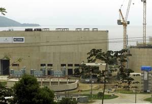 Obras da Usina Nuclear Angra 3 Foto: Gabriel de Paiva / Agência O Globo