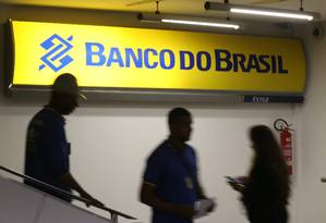 Fachada da Agência do Banco do Brasil no Senado Federal Foto: Ailton de Freitas / Agência O Globo