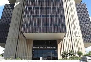 Prédio do Banco Central em Brasília Foto: Agência O Globo