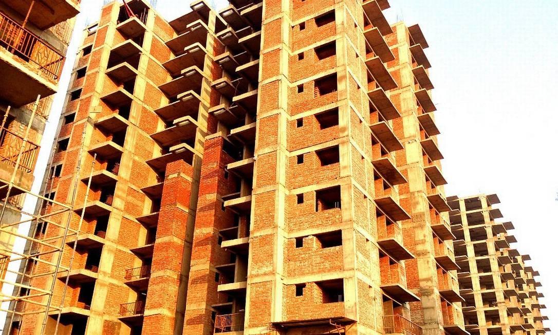 Imóvel em construção. Setor da construção civil teve o melhor desempenho desde 2014 Foto: Pixabay