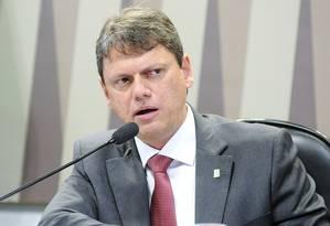 Tarcísio Gomes de Freitas, ministro de Infraestrutura Foto: Reprodução