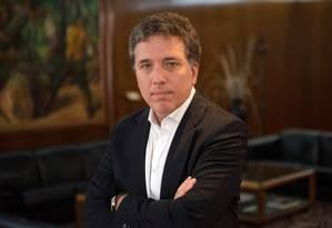 Ministro da Fazenda da Argentina, Nicolás Dujovne Foto: Divulgação