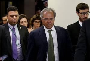 O futuro ministro da Fazenda do Governo Jair Bolsonaro, Paulo Guedes. Foto: Jorge William / Agência O Globo